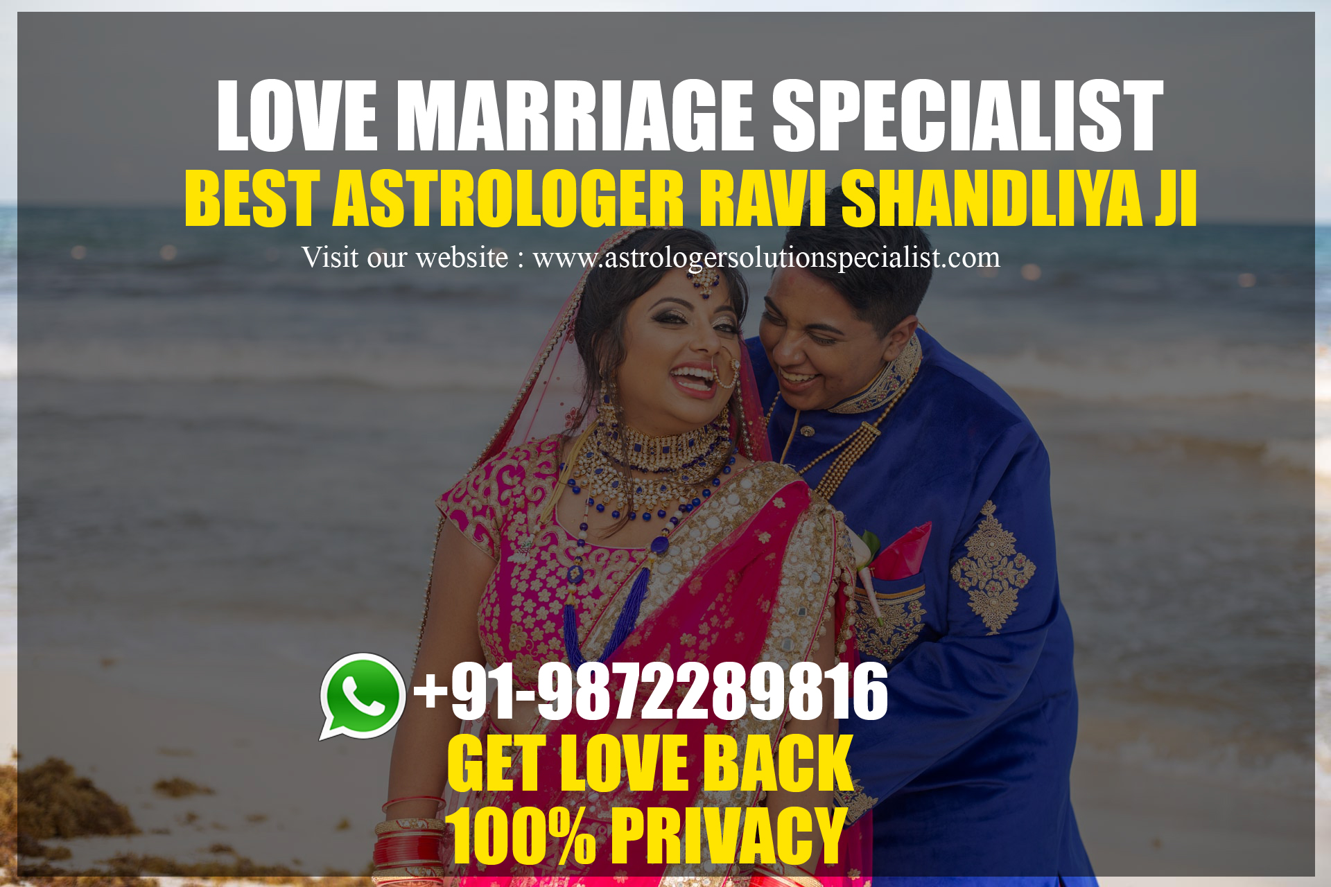 Love marriage specialist in Bangalore - +91-9872289816